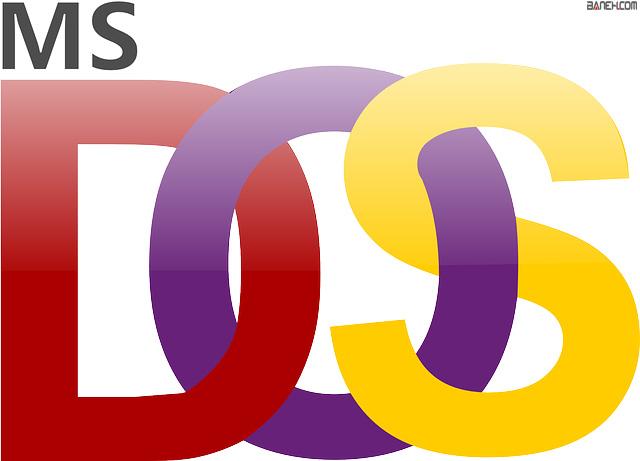 آموزش سیستم عامل Microsoft Dos6.22