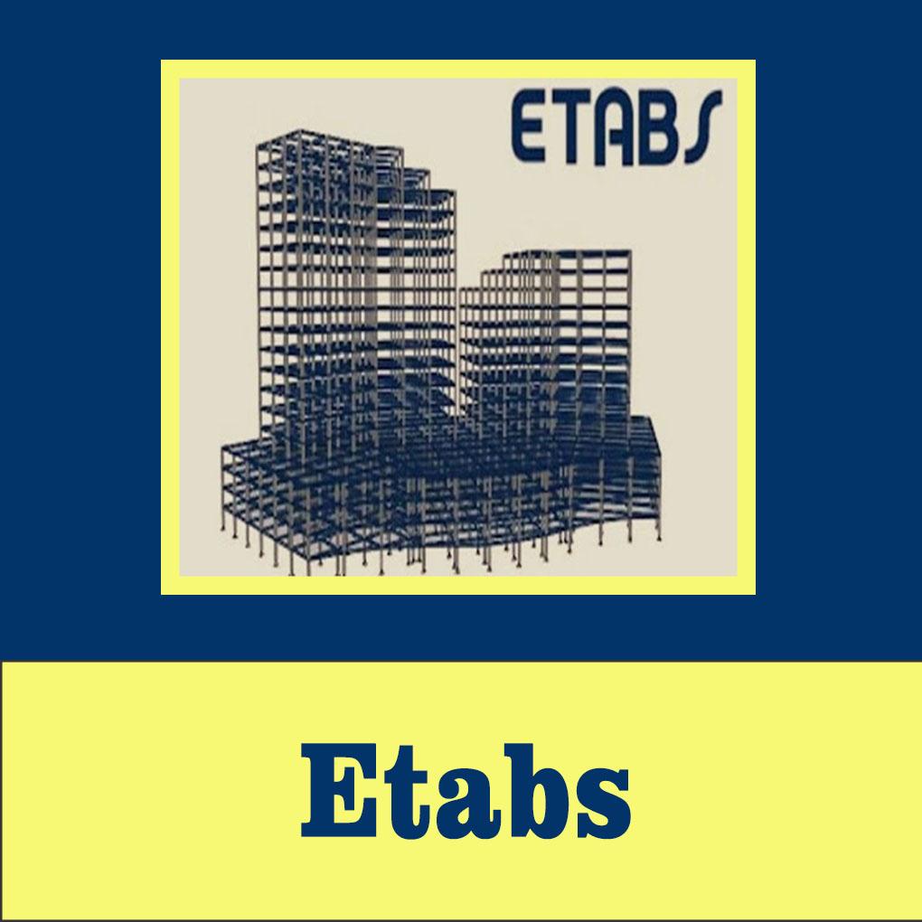 آموزش طراحی سازه بتنی در ETABS
